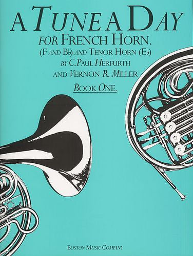 A Tune A Day For French Horn Book One