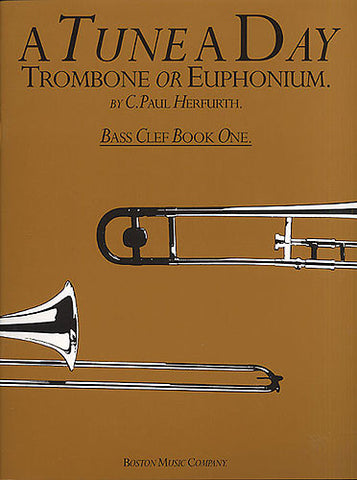 A Tune A Day For Trombone Or Euphonium Bass Clef Book One