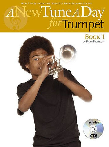 A New Tune A Day Trumpet Book and CD