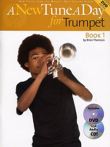 A New Tune A Day Trumpet Book CD and DVD