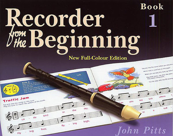 Recorder From The Beginning (John Pitts) Pupil's Book 1