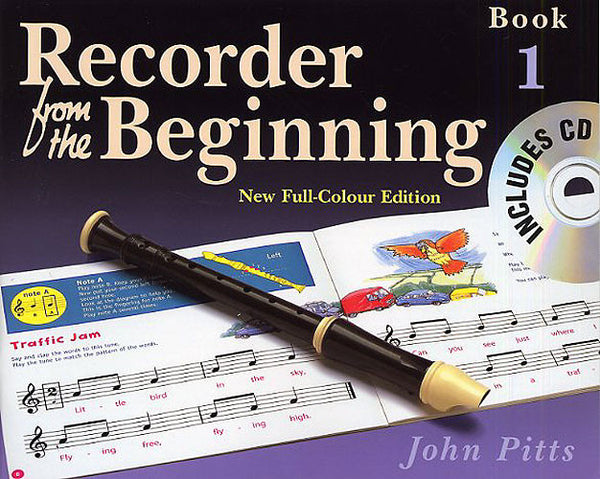 Recorder From The Beginning (John Pitts) Pupil's Book 1 & CD