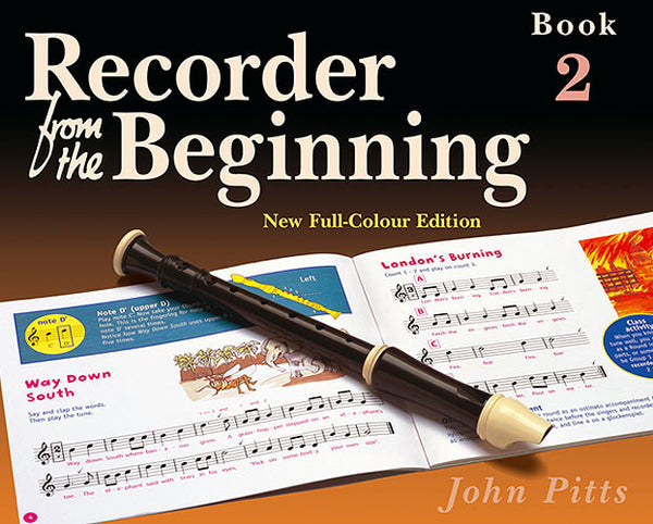 Recorder From The Beginning (John Pitts) Pupil's Book 2
