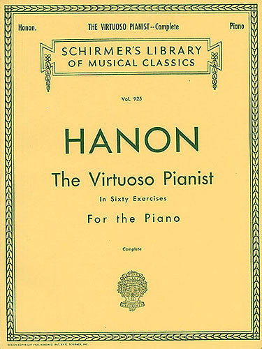 Hanon The Virtuoso Pianist In Sixty Exercises For The Piano Complete