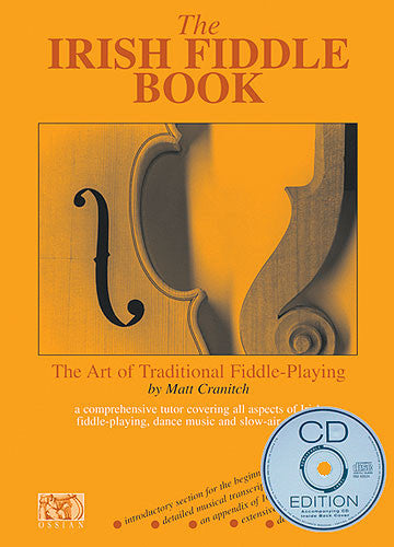 Matt Cranitch The Irish Fiddle Book CD Edition