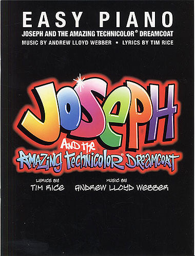 Joseph And The Amazing Technicolor Dreamcoat Easy Piano