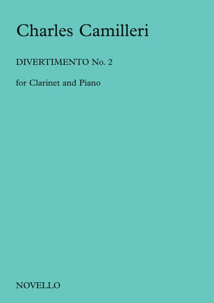 Camilleri Divertimento No.2 for Clarinet