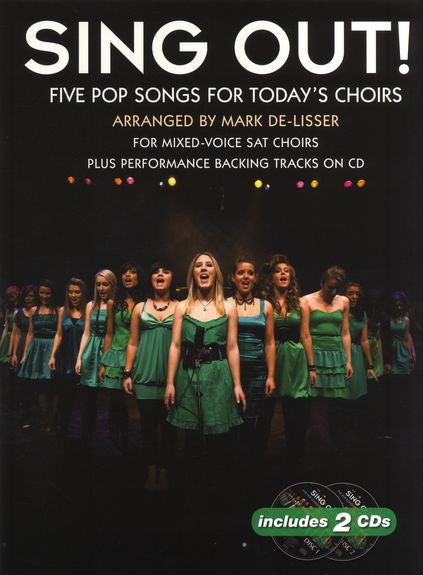 Sing Out! 5 Pop Songs For Today's Choirs Book 1