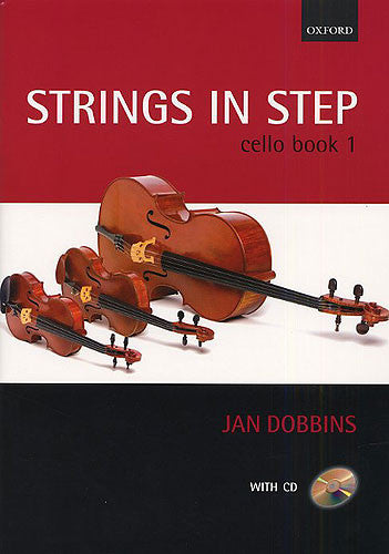 Strings in Step Cello Book and CD