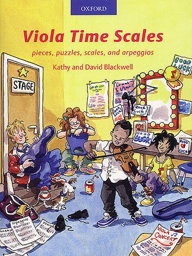 Viola Time Scales Revised Edition