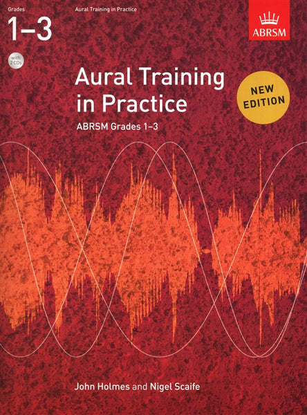 Aural Training In Practice Book 1 Grades 1-3 Book with 2 CDs