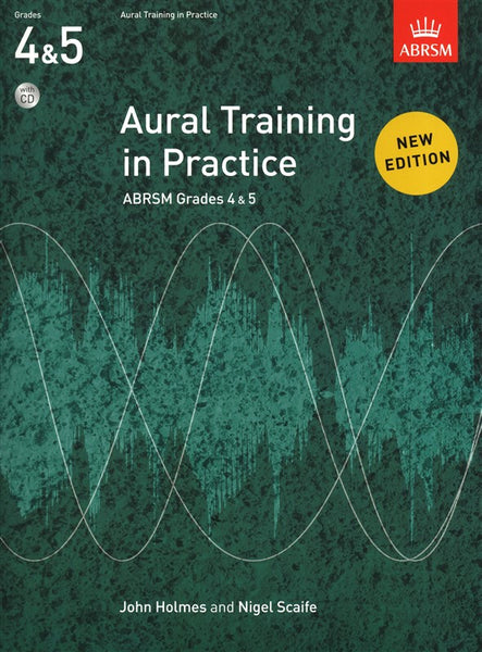 Aural Training In Practice Book 2 Grades 4-5 Book with CD