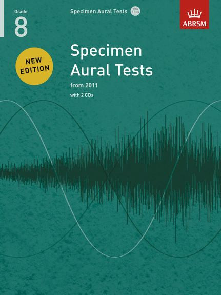 ABRSM Specimen Aural Tests Grade 8 with 2 CDs