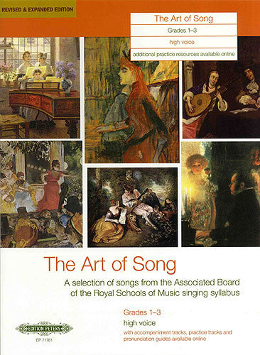 Art of Song Grade 1-3 High Voice (Expanded)