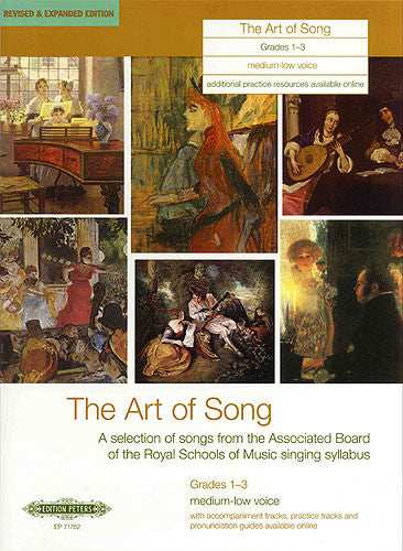 Art of Song Grade 1-3 Medium Low Voice (Expanded)