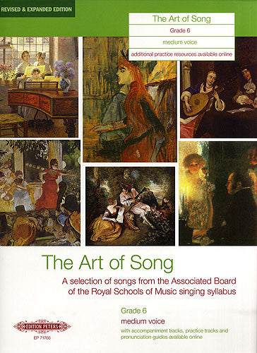 Art of Song Grade 6 Medium Expanded