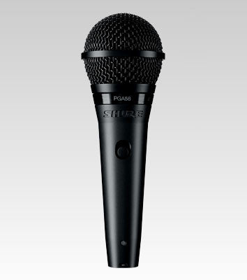 Shure PGA 58 Cardioid Dynamic Vocal Microphone