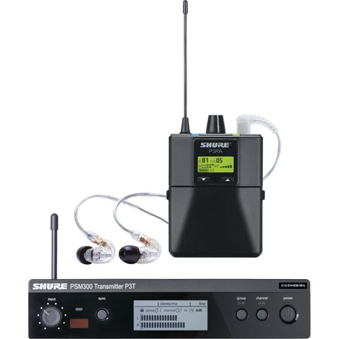 Shure PSM300 SE112 Stereo Personal Monitor System