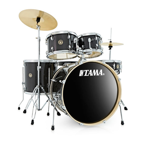 Tama Rhythm Mate 5pc Drum Kit with Zildjian Planet Z Cymbals in Charcoal Mist