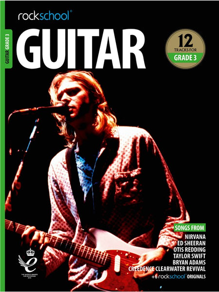 Rockschool Guitar Grade 3 2018+ Book/Audio