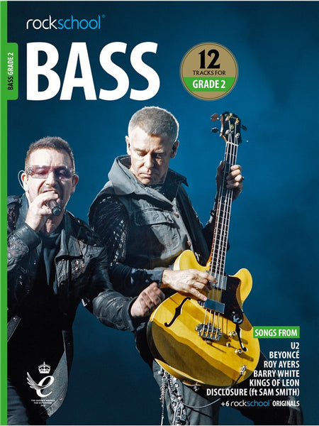 Rockschool Bass Grade 2 2018+ Book/Audio