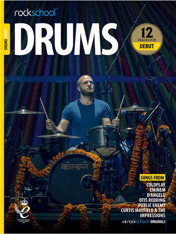 Rockschool Drums Debut 2018+ Book/Audio