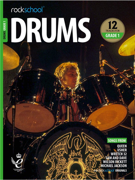 Rockschool Drums Grade 1 2018+ Book/Audio