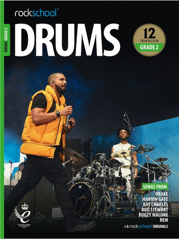 Rockschool Drums Grade 2 2018+ Book/Audio