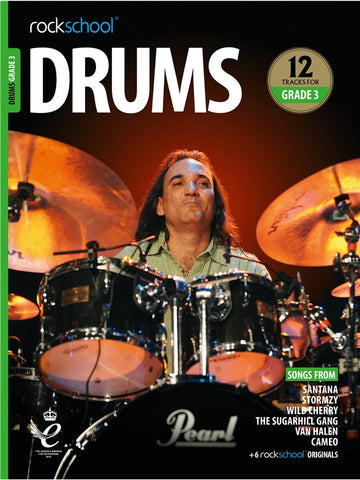 Rockschool Drums Grade 3 2018+ Book/Audio