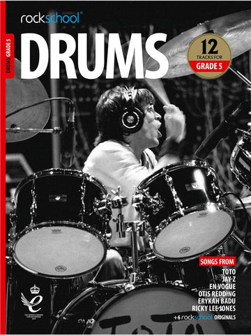 Rockschool Drums Grade 5 2018+ Book/Audio