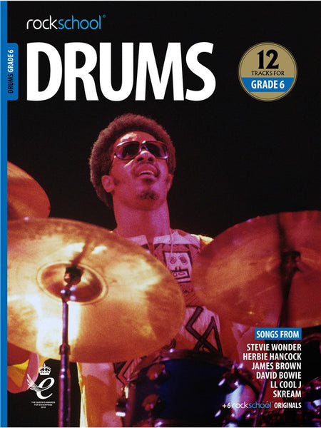 Rockschool Drums Grade 6 2018+ Book/Audio