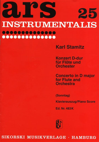 Stamitz Concerto In D for Flute