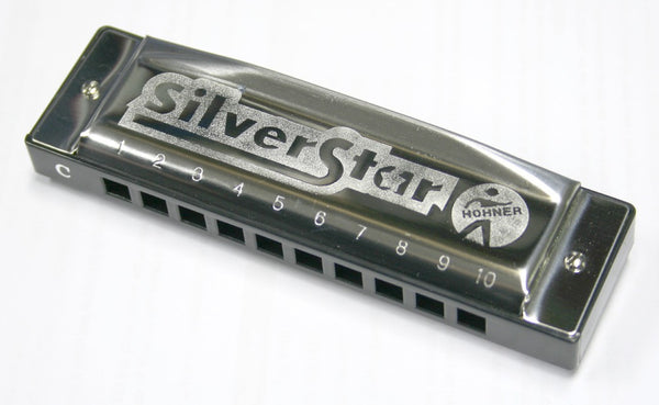 Hohner Silver Star 'C' Harmonica