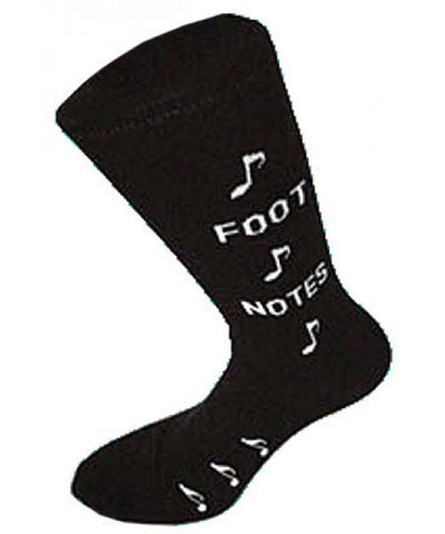 Foot Notes Musical Socks