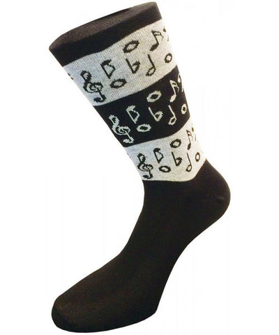 Music Notes Musical Socks