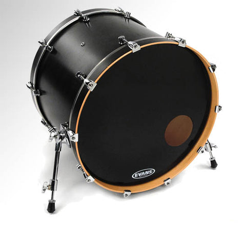 "Evans 20"" EQ3 Resonant Black"
