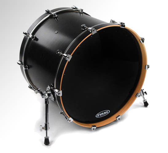 "Evans 22"" EQ1 Resonant Black"