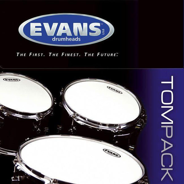 Evans G2 Coated Standard Tom Pack