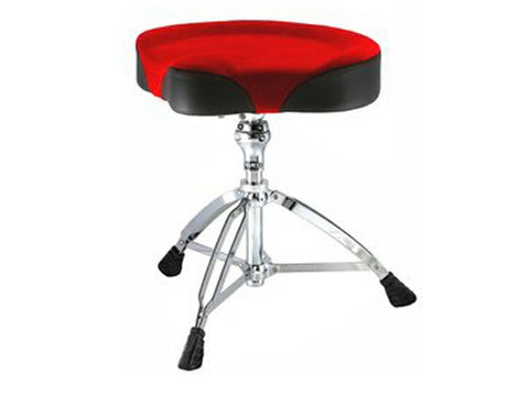 Mapex T765RED Motorcycle Seat 'Cloth Top' Drum Throne