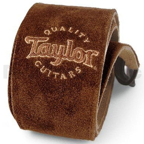 Taylor Chocolate Brown Suede Strap