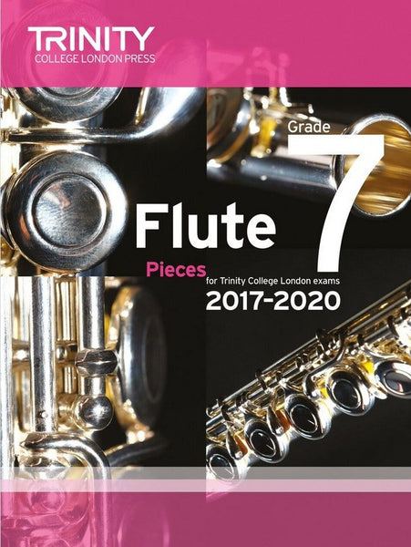 Trinity College London Flute Exam 2017-2020 Grade 7 Score & Parts
