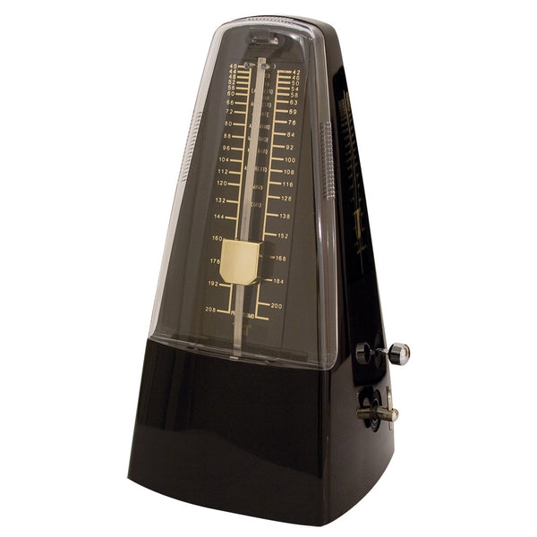 TGI Traditional Metronome Black With Bell