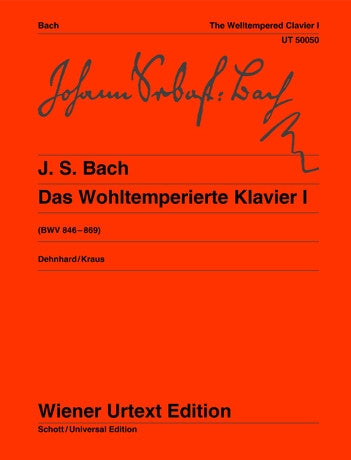 JS Bach Well Tempered Klavier 1 Piano