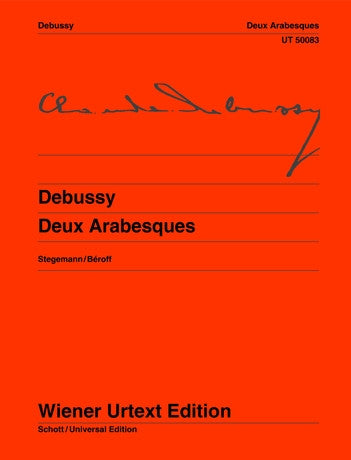 Debussy 2 Arabesques for Piano