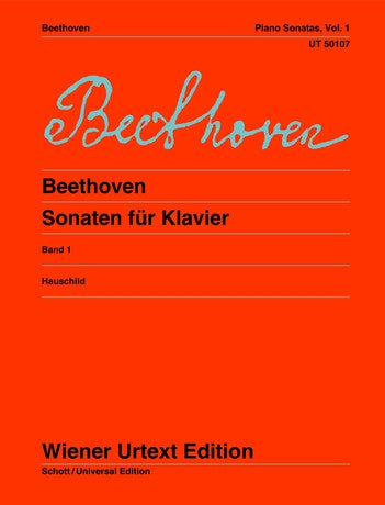 Beethoven Sonatas Volume 1 for Piano