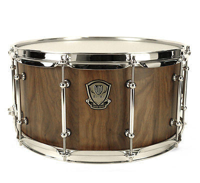 "Worldmax 14""x7"" Stave Walnut Snare Drum"