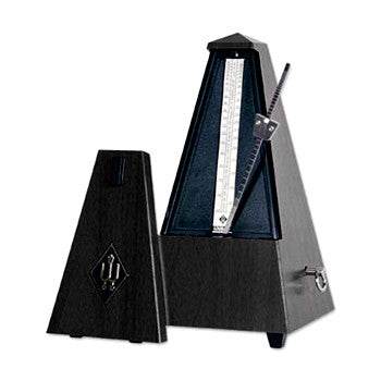 Wittner Traditional Metronome Black With Bell