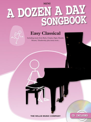A Dozen A Day Songbook Easy Classical Mini