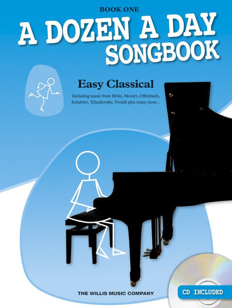 A Dozen A Day Songbook Easy Classical Book One