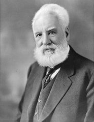 picture of Alexander Bell the creator of twisted pair cable